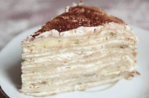 Торт со сгущенным молоком и масляным кремом