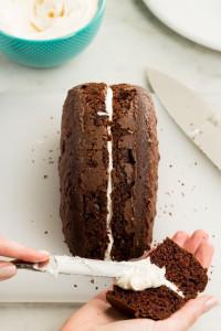 Торт Заяц – замечательный десерт к Пасхе! Мастер-класс-шаг 3