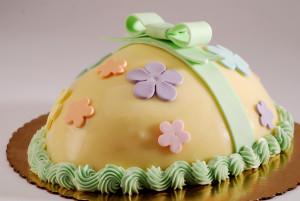 Как украсить торт на Пасху – еще несколько идей!-шаг 1