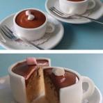 Оригинальные кексы. Как сделать кексы-кружки