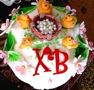 Как украсить торт на Пасху – еще несколько идей!-шаг 2
