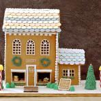 3D торт из мастики Домик – идеи