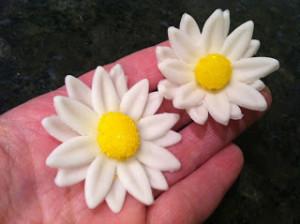 Ромашка из мастики. Как сделать цветок из мастики – мастер-класс