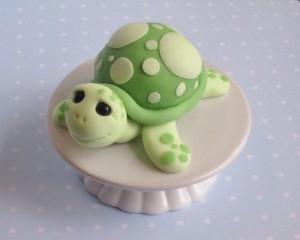 Животные из мастики. Черепаха из мастики – видео-шаг 1