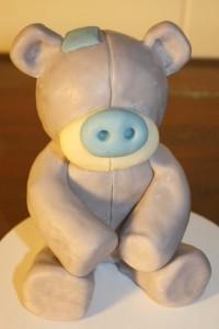 Мишка из мастики, мастер-класс. Как сделать мишку Тедди?-шаг 7
