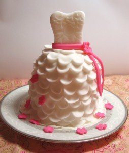 Свадебный десерт – капкейки Невеста