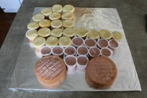 Детский торт Коляска – мастер-класс-шаг 1