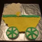 Детский торт Коляска – мастер-класс