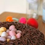 Красивый торт Гнездо простого приготовления! Мастер-класс