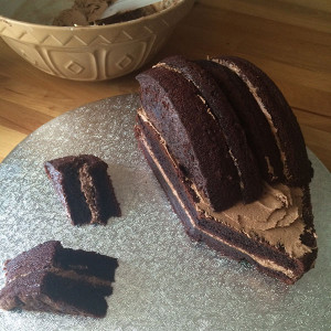 Торт Ежик с фото. Мастер-класс-шаг 3