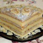 Вкусный Банановый торт простого приготовления
