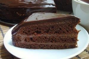 Шоколадная пропитка для кексов, коржей, пирогов