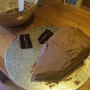 Торт Ежик с фото. Мастер-класс-шаг 4