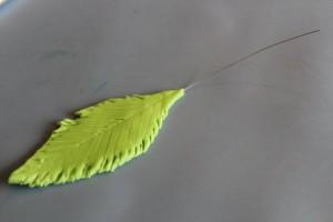 Украшение из мастики – Пальма-шаг 5