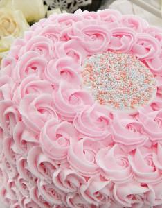 Украшение домашнего торта. Торт Цветок – видео-шаг 2
