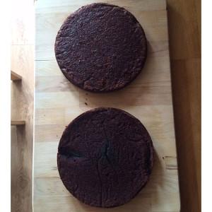 Торт Ежик с фото. Мастер-класс-шаг 1
