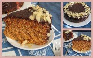 Вафельный торт с кремом из сгущенки и шоколадом