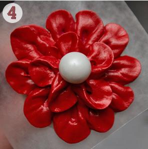 Айсинг – украшения. Как сделать цветы из айсинга?-шаг 4