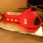 3D торт Вертолет – мастер-класс
