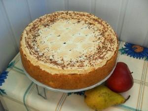 Торт Карамельный со сладкой помадкой