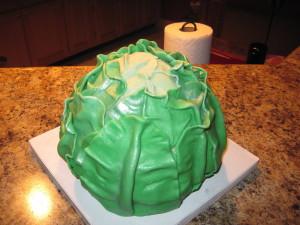 Как украсить торт оригинально? Сделайте торт Капусту!-шаг 1