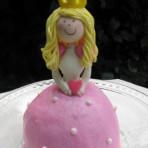 Торт для девочки Маленькая принцесса. Мастер-класс