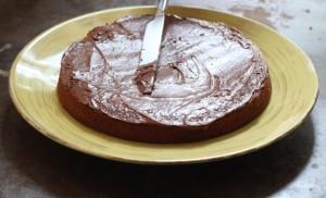 Как украсить детский торт просто и при этом эффектно – мастер-класс-шаг 1