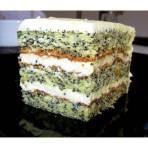 Маковый торт с творогом – пальчики оближите!