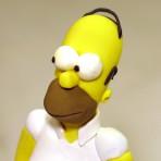 Симпсон из мастики – видео. Украсьте необычно десерт!
