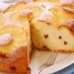Вкуснейшая запеканка из творога с ананасами и изюмом!