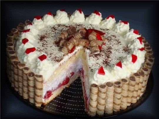 Рецепты вкусных пирожных и тортов