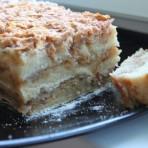 Нежнейший яблочный манный торт по рецепту болгарской кухни