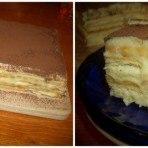 Торт Тирамису быстрого приготовления