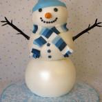 Торт Снеговик – видео рецепт