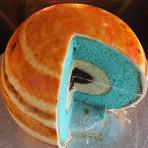 Невероятно красивый торт Планета! Видео
