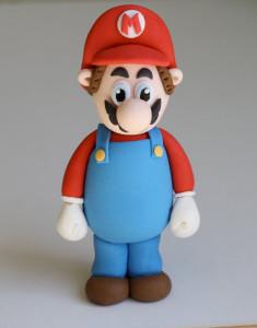 Марио из мастики – видео-шаг 2