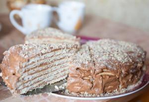 Невероятно вкусный торт Микадо