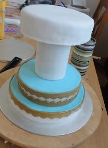 Детский торт Карусель – как украсить-шаг 7