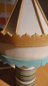 Детский торт Карусель – как украсить-шаг 6