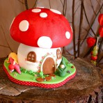 Детский торт Гриб-мухомор – видео