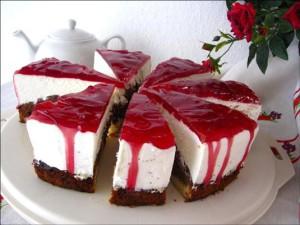 Потрясающий торт Красная шапочка
