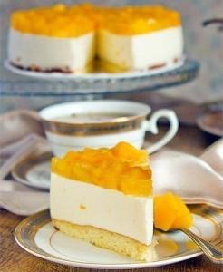 Потрясающий йогуртовый торт!