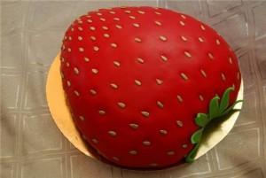 Торт «Клубничка»