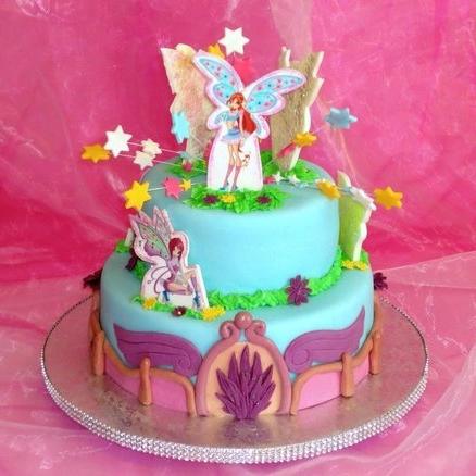 Как сделать торт винкс фото 703
