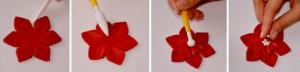 Цветок из мастики -шаг 3