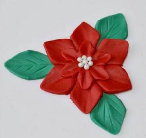 Цветок из мастики -шаг 1