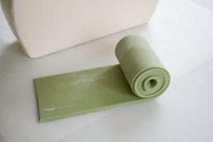 Торт сумка из мастики – мастер-класс-шаг 7