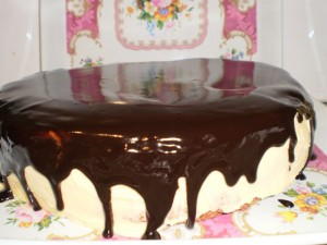 Торт Птичье молоко с манкой-шаг 1