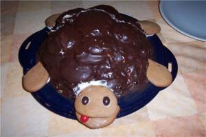 Торт Черепаха из печенья