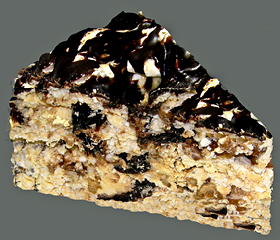 Торт Графские развалины с черносливом-шаг 1
